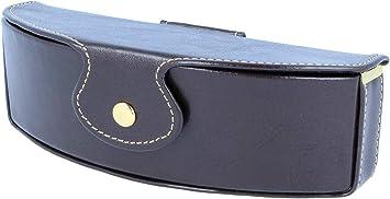 Funda para gafas Fabrizio de alta calidad con botón de presión y trabilla para cinturón.: Amazon.es: Salud y cuidado personal