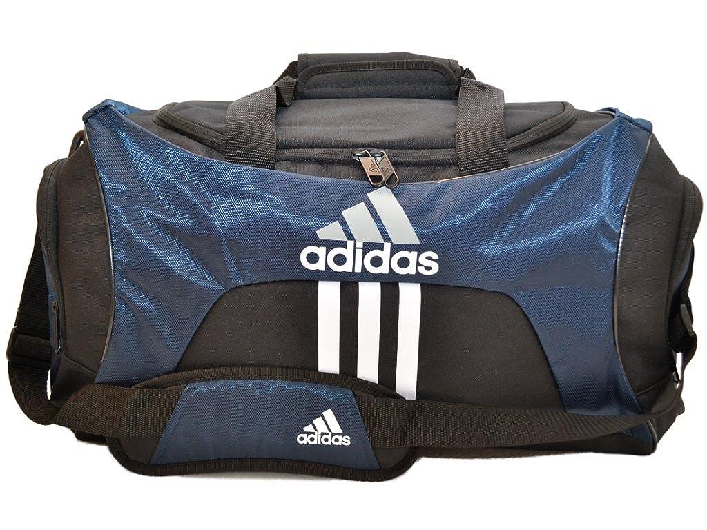 Amazon.com  Adidas Scorer Medium Duffle Black and Navy Blue Gym Bag  Sports    Outdoors 679e87bcc19e0