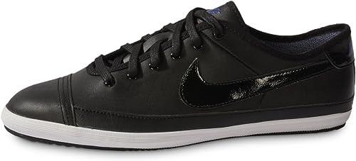 Nike Mens Trainers Flash Leather Black