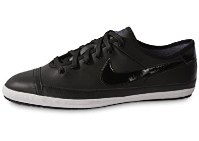 NIKE Mens Trainers Flash Leather Black UK Size 10 EU 45 NEW  Amazon ... 442cb25a1a