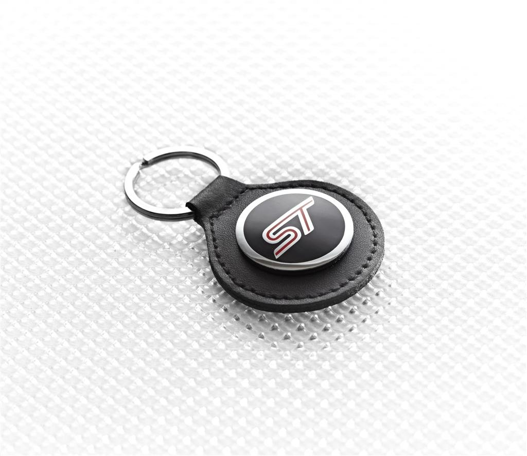 Richbrook 5500.38 Black Leather Car Keyring
