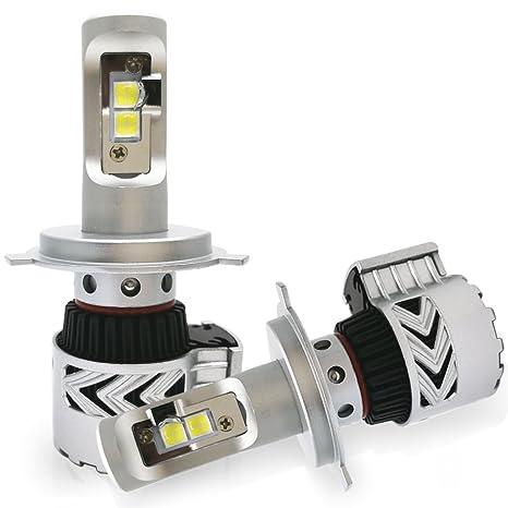 koomtoom LED bombillas para faros delanteros Kit Doble Haz Canbus Libre De Errores cabeza luz de