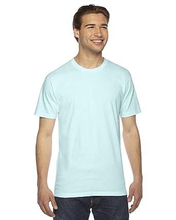 American Apparel Mens Fine Jersey Short-Sleeve T-Shirt (2001) -LIGHT