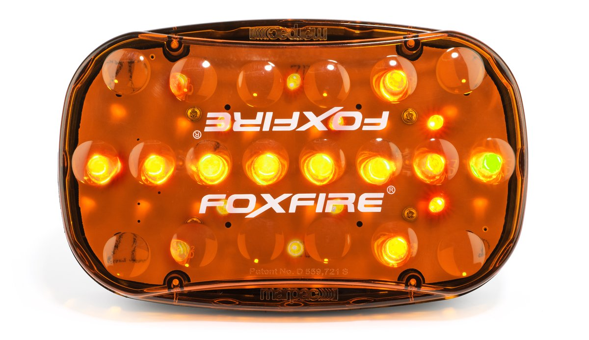FoxFire FAL-A Portable LED Flashing Arrow Light, Amber Marpac 6004221