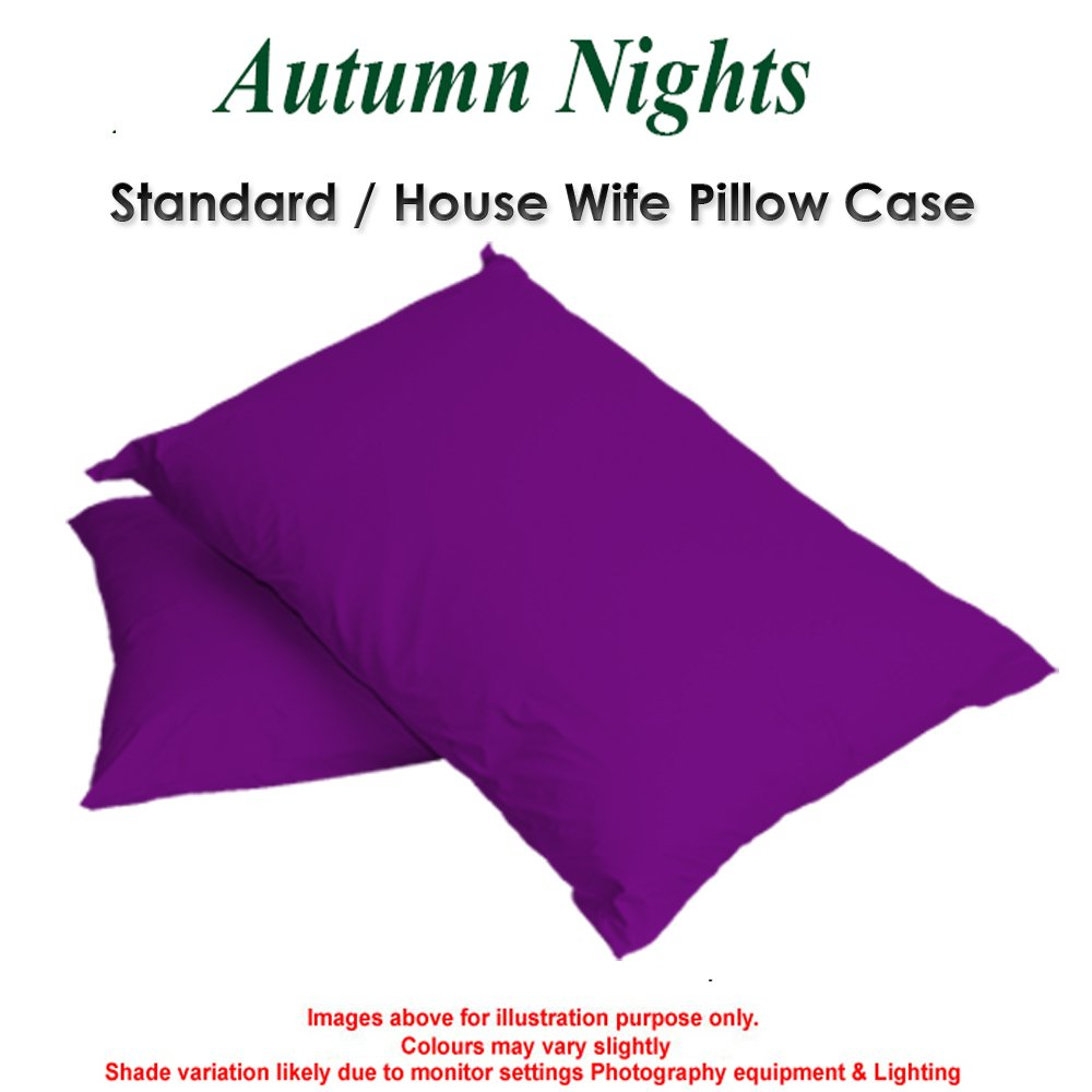SINGLE DOUBLE & KING SIZE FITTED SHEETS Pillow cases - 68pick:Double-(Black) Autumn Dreams