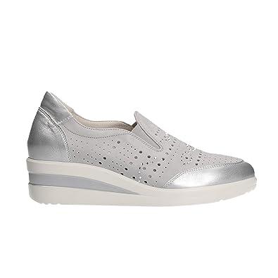 Größe38 GrauStahl R20123Damen Grau Eu Melluso Sneaker iuOPkXZ