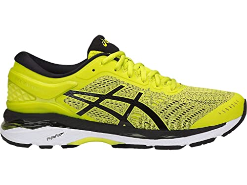 best service authentic great deals 2017 ASICS Men's Gel-Kayano 24 Running Shoes, 11.5M, Sulphur Spring/Black/White