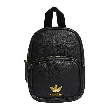 Originals Pu Adidas Leather MochilaMujerNegro Y Mini Backpack nPXNZ0O8wk