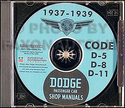 Grille 1938 (1937 1938 Dodge Car Shop Repair Manual on CD-ROM)