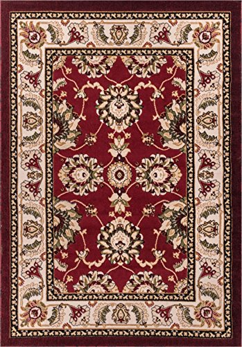 Well Woven Persian Kashan Value Red Floral Persian 20 x 31 (20