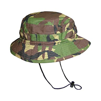 393693723ca Kombat British Army Military Jungle Boonie Sun Bush Hat Rip Stop Special  Forces - Medium -58Cm  Amazon.co.uk  Clothing