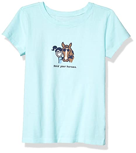 Life is Good Girls Vintage Crusher T-Shirt