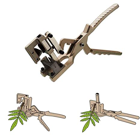 Lianqi New Style Professional V-share Grafting Tool Scissors Vaccination Knife Cutting Pruner Garden and