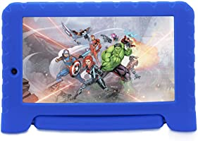 "Tablet Disney Vingadores Plus Wi-Fi Android Dual Câmera, Multilaser, NB280, 8 GB, 7"", Azul"