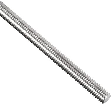 Amazon Com Uxcell M6 X 250mm Fully Threaded Rod 304 Stainless Steel Right Hand Threads Home Improvement