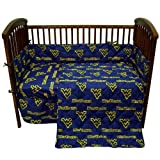College Covers West Virginia Mountaineers 5 piece Baby Crib Set