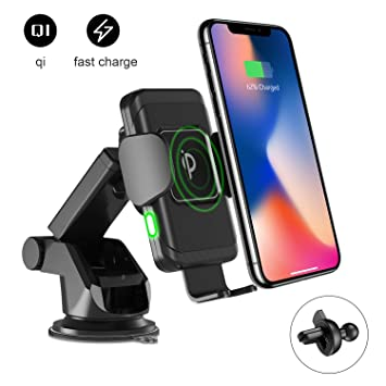 Imikoko 2 in 1 Wireless Quick Charger Auto: