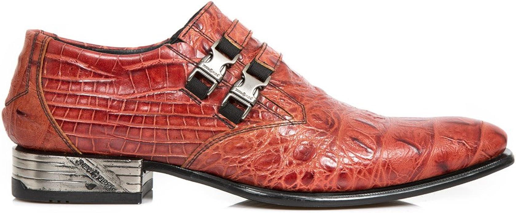 Zapato Hombre de piel con hebillas NEW ROCK ORIGINAL M.2246-S5