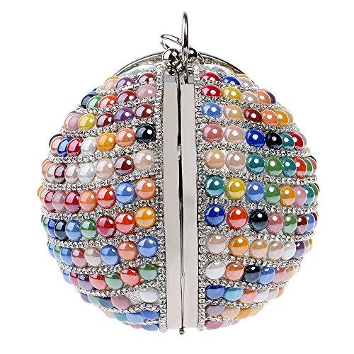 SoiréE Sac Ball BandoulièRe GODW Diamant Main Mariage Golden De Sac à Mesdames Partie Clutches à Sac Prom Pochettes wXqtt4p