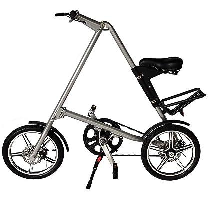 Amazon.com: G4-MAX Bicicleta de carretera plegable ligera ...