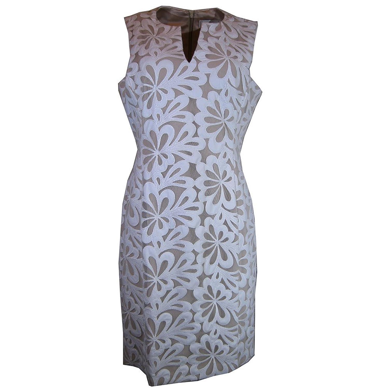 Katherine Kelly Sleeveless Lace Sheath Dress, Size-8