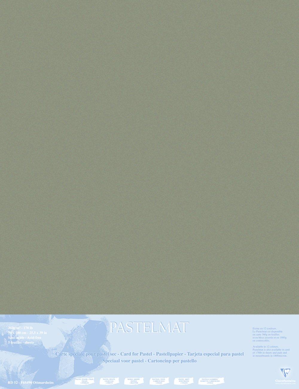 Clairefontaine 96011C Packung (mit 5 Zeichenbögen Pastelmat, Pastelmat, Pastelmat, 50 x 70 cm, 360 g, ideal für Trockentechniken und Pastell) braun B017NEI1JM | Authentische Garantie  4ba0fb