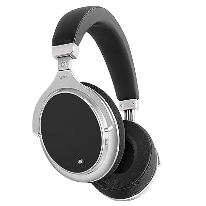MRSLIU Auriculares Bluetooth Sobre La Oreja, Cancelación Activa De Ruido Auriculares Sobre La Oreja Auriculares