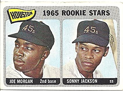 Joe Morgan Sonny Jackson 1965 Rookie Stars 1965 Topps