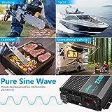Pure Sine Wave Power Inverter 2200Watt DC 12volt to