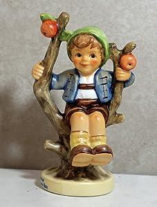 "Hummel MI Hummel Figurines Apple Tree BOY 4"""