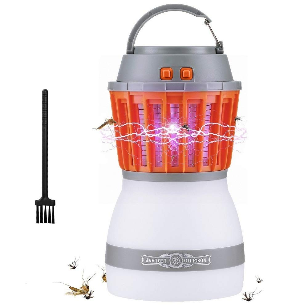 AUSHEN Mosquito Killer lámpara Mata Mosquitos electrico Exterior Interior Profesional Anti Mosquitos electrico (Versión Mejorada