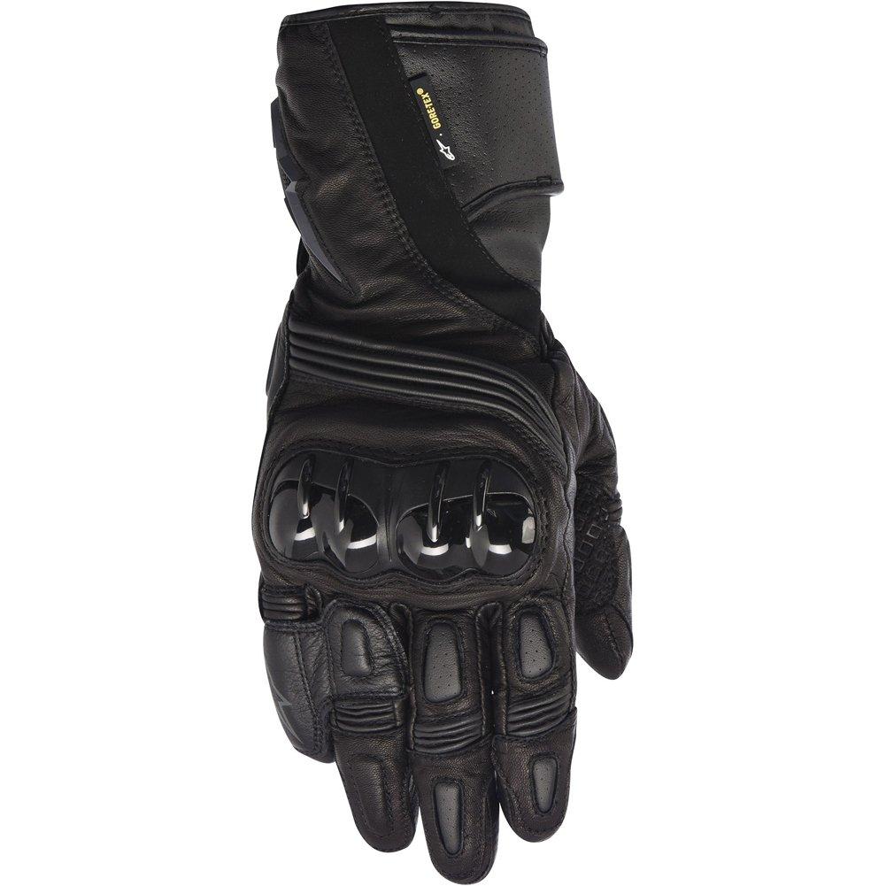 Alpinestars Archer X-Trafit Men's Leather Street Racing Motorcycle Gloves - Black/Small