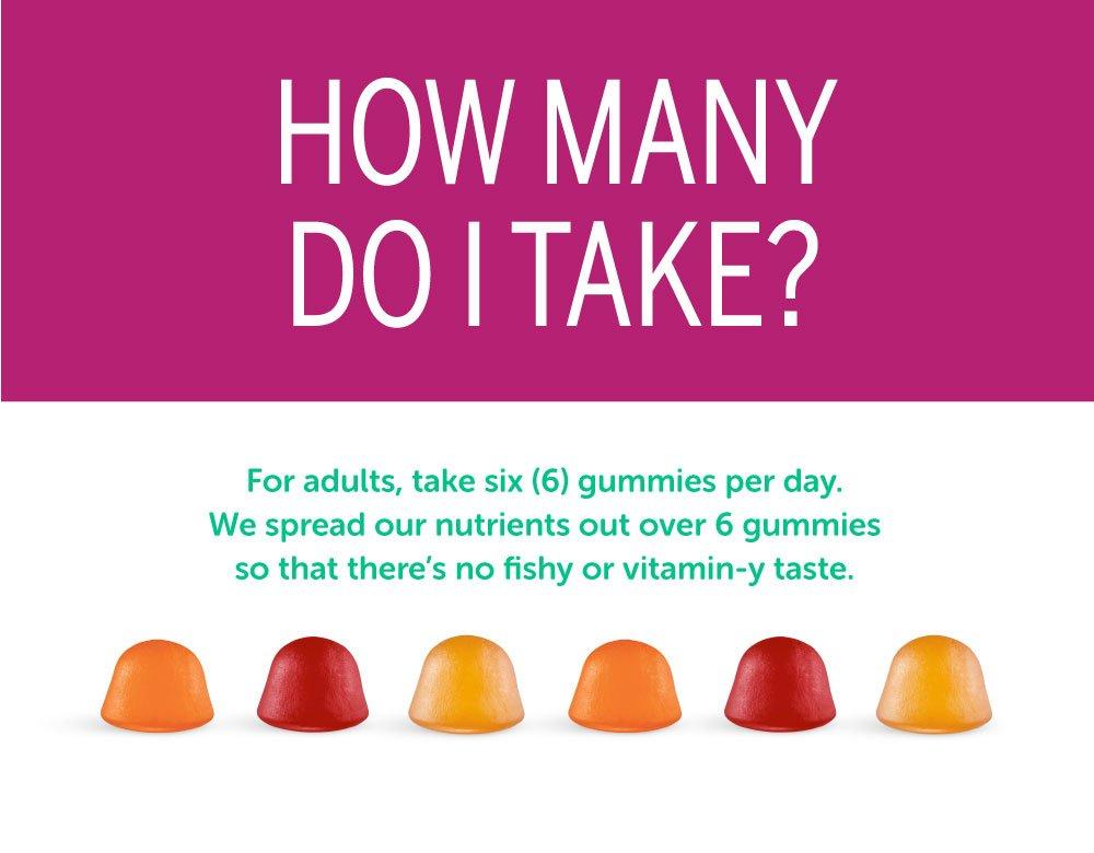 SmartyPants Women's Complete Gummy Vitamins: Gluten Free, Multivitamin, CoQ10, Folate (Methylfolate), Vitamin K2, Vitamin D3, Biotin, Methyl B12, Omega 3 DHA/EPA Fish Oil, 180 count (30 Day Supply) by SmartyPants Gummy Vitamins (Image #8)