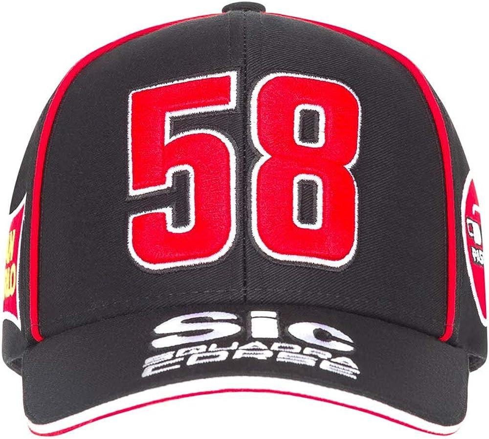 Marco Simoncelli Casquette Sic 58 Moto GP Squadra Corse Officiel
