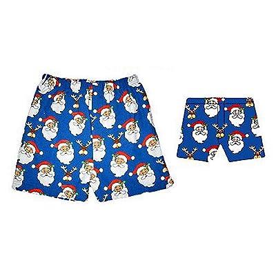 Unisex Santa Boxer Shorts - Magic Boxers - Medium: Toys & Games