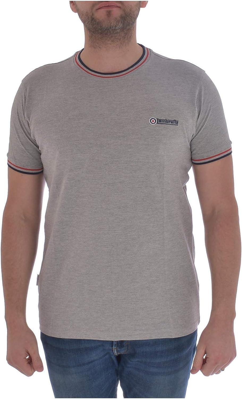 Lambretta - Camiseta de manga corta para hombre con cuello redondo: Amazon.es: Ropa y accesorios