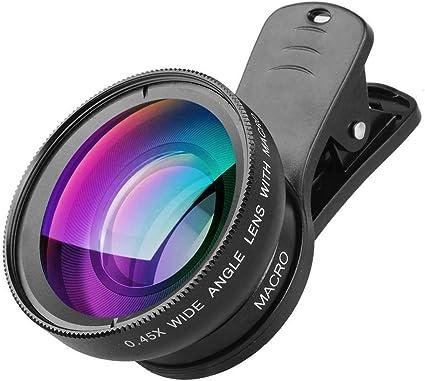 Xenvo Pro Objektiv Set Für Iphone Samsung Pixel Makro Und Weitwinkelobjektiv Mit Led Licht Und Reisetasche Sport Freizeit