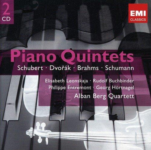 Piano Quintets: Schubert, d. 667 / Dvorak, Op. 81 / Brahms, Op. 34 / Schumann, Op. -