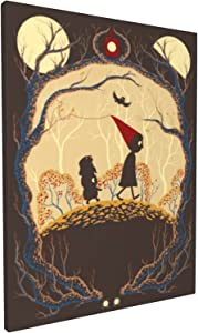 Diamond Painting Journey - Over The Garden Wall Canvas Prints Embroidery Cross Stitch Art Crafts Poster
