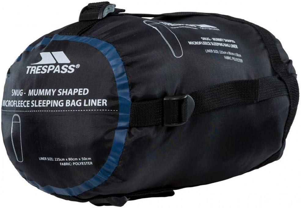 Andes Micro Fleece Mummy Sleeping Bag Liner Inner Camping Sheet