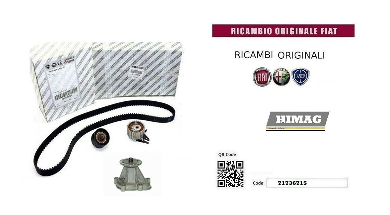 Kit Distribuzione Pompa Acqua 1.6 16v Bipower Blupower LPG