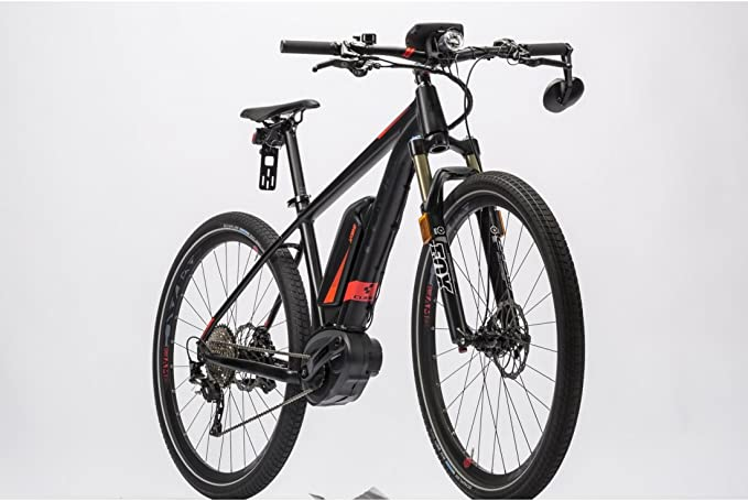Bicicleta eléctrica CUBE focos Hybrid 45 500 SL 2016-17 29 ...