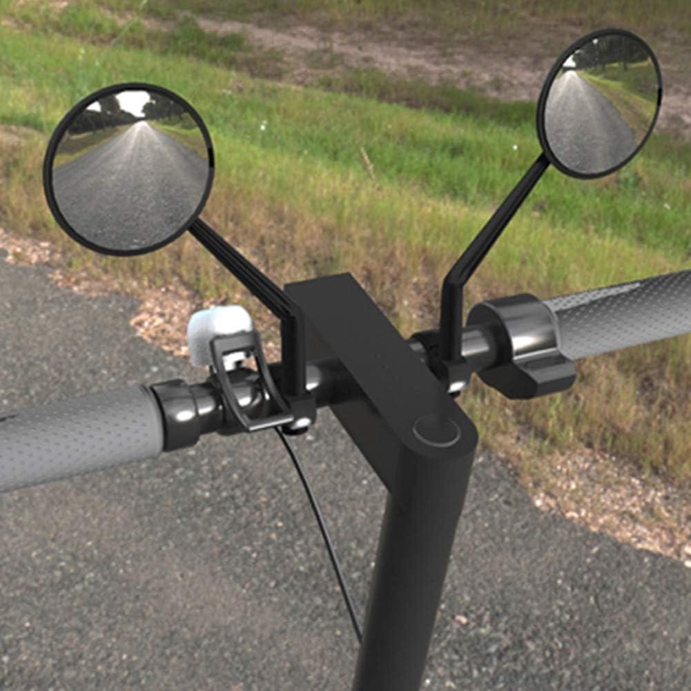 VGEBY1 Lenkerende R/ückspiegel Professioneller Scooter-Griff mit klarer Sicht und gro/ßer Sicht Rea View Mirror Scooter Retroreflector
