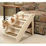 Solvit PupSTEP Plus XL Stairs,  28 x 18 x 25-Inch - Pup Step Plus Dog Steps