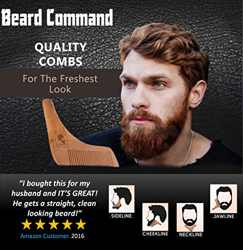 Beard-Comb-and-Brush-Set-Beard-Trimmer-Shaping-Tool-for-Men-Beard-and-Mustache-Trimming-Grooming-Kit-Wooden-Beard-Care-Kit-Wooden-Boar-Hair-Brush-Beard-Shaping-Tool-Trims-and-Styles-Facial-Hair