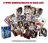 5 WWE Trading Card Lot! All Inserts! Featuring inserts and relics from various WWE Trading Card Sets! Includes Golden Groundhog Box!