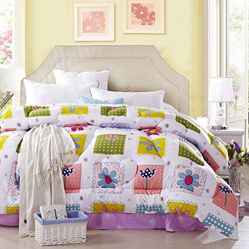 Childhood World Multicolor Comforter Down Alternative Comforter Cheap Comforter Teen Comforter Girls Comforter Discount Comforter, Queen Size