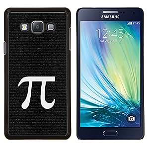 EJOOY---Cubierta de la caja de protección para la piel dura ** Samsung Galaxy A7 A7000 ** --Pi Matemáticas Símbolo Antigua Grecia Carta