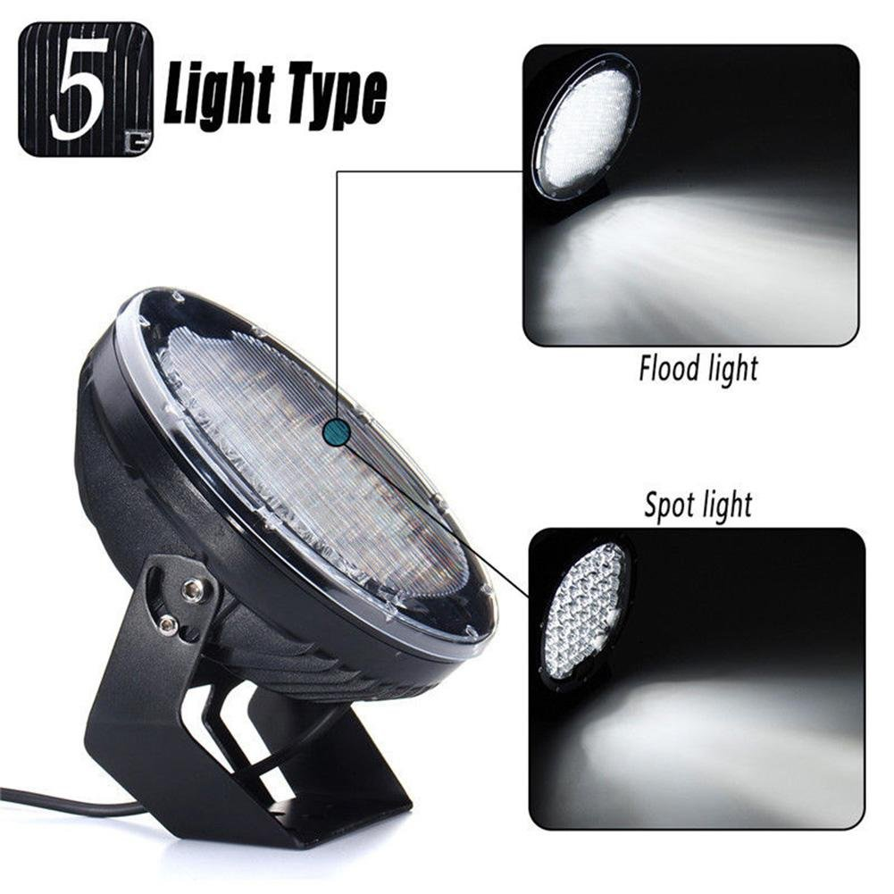 ZHUOTOP 9Inch 690000LM SUV Car LED Work Light Spot Flood Driving Lamp Offroad Truck 7650W 45LED by ZHUOTOP (Image #6)