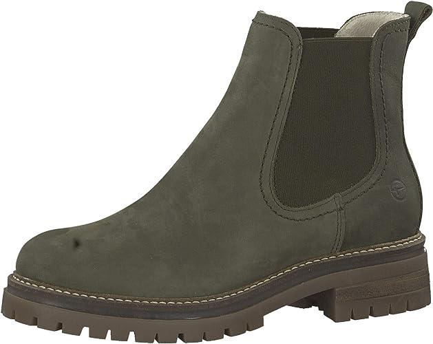 NEU TAMARIS Damenschuhe Schuhe Chelsea Boots Stiefeletten Damen-Stiefel Leder